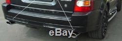 Range Rover Sport Diesel Ovale Acier Inoxydable Embout de Tuyau Échappement