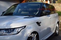 Range Rover Sport Evoque Filtre Fibre Carbone Rétroviseur Complet Rechange