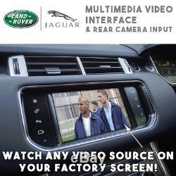 Range Rover Sport Evoque Jaguar XF XE Multimédia Vidéo & Caméra Arrière