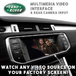 Range Rover Sport Evoque Jaguar XF XJL Multimédia Vidéo & Caméra Interface