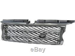 Range Rover Sport L320 06-09 BK LOGO Honeycomb Mesh Calandre CH for LAND ROVER