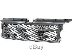 Range Rover Sport L320 06-09 GREEN LOGO HoneycombMesh Calandre CH for LAND ROVER