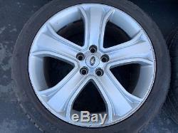Range Rover Sport L320 (06-13) 20 Pouce Roues Jantes Pneus Set Usinage Oem Ab