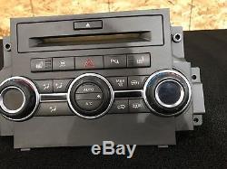 Range Rover Sport L320 (10-13) Ac Contrôle Panneau Radio Visage Oem Contrôleur