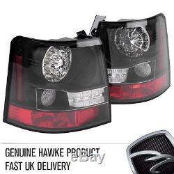 Range Rover Sport L320 2005 HAWKE Arrière LED Transparent Feu Stop Extension