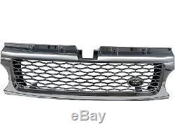 Range Rover Sport L320 MK1 10-13 WITH BLACK LOGO Calandre CHROME for LAND ROVER
