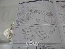 Range Rover Sport L320 Noir Oak Ébène Bois Garniture Habitacle Paquet Aération