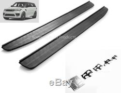 Range Rover Sport L494 2013+ Tout Noir Stealth Marchepieds Latéraux