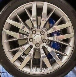 Range Rover Sport L494 Svr 2014+ OEM 22 x 10 Style 6 Argent Sparkle Roues