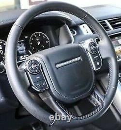 Range Rover Sport L494 Svr Chauffé Direction Roue Avec Carbone Fibre Bord OEM