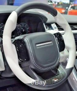 Range Rover Sport L494 Svr Cirrus Chauffé Volant avec Fibre Carbone Garniture