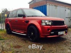 Range Rover Sport Rs Aile Pack Complet Kit de Carrosserie Modèles 2005-2009