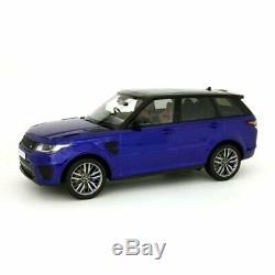 Range Rover Sport SVR Estoril Blue