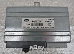 Range Rover Sport Suspension pneumatique Appareil de commande RQT500160