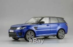 Range Rover Sport Svr 2015 Estoril Blue Kyosho C09542bl 1/18 Metal Rhd Blau