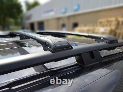 Range Rover Sport Verrouillable Noir Cross Barres Toit Rack 2005-2013 75 KG