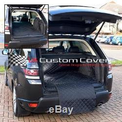 Range Rover Sport matelassé imperméable TAPIS DE SOL COFFRE protection chien