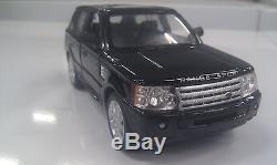 Range Rover Sport noir kinsmart Jouet miniature 1/38 echelle Voiture cadeau