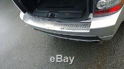 Range Rover Sports 05 -13 Oem Acier Inoxydable Pare-Chocs Arrière Protecteur