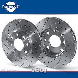 Rotinger Sport Jeu De Disques De Frein Essieu arrière Land Rover Range Rover II