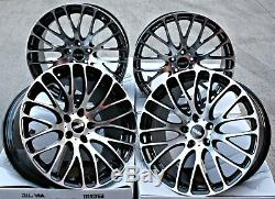 Roues Alliage 20 20 Pouces Alloys Cruize 170 Bp Noir Poli Concave Wheels