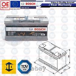 S5A13 Résistant Bosch Voiture Van Batterie  12V 95AH 850A 3 Ans Garantie