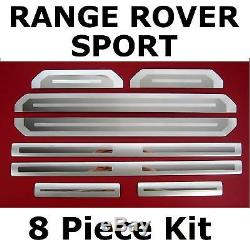 Sill tread plate door scuff kick kit for Range Rover Sport EBN500040 trim chrome