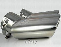 TUBO DE ESCAPE CROMADO INOX para RANGE ROVER SPORT 2005-09 TDV6 TDV8 HSE LAND V8