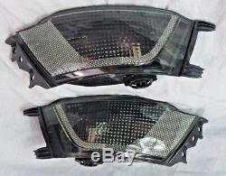 Teinté Pare-Chocs Arrière Brouillard LED Lampe Paire pour Range Rover Sport L494