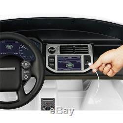 Véhicule Electrique Enfants Range Rover Sport 12V Blanc