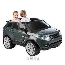 Voiture électrique pour enfant 12 V Feber Range Rover Sport gris